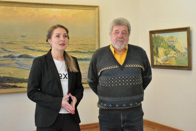 Выставку хмельницкого художника Виктора Севця открыли в музее