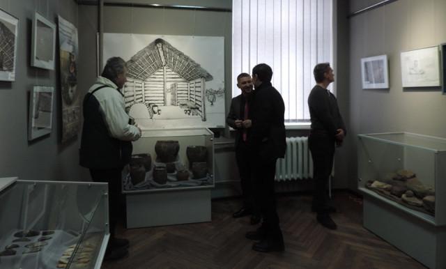 Археологическая выставка действует в Ровенском краеведческом музее