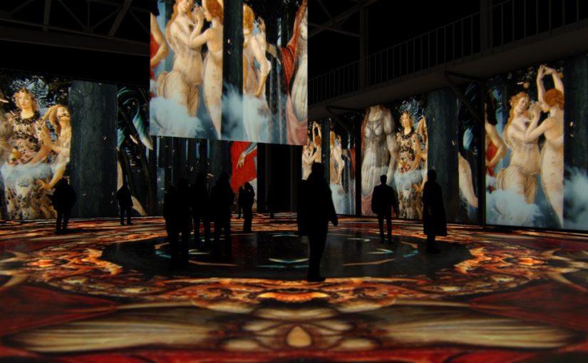 Мультимедийная выставка «Микеланджело. Сикстинская капелла»