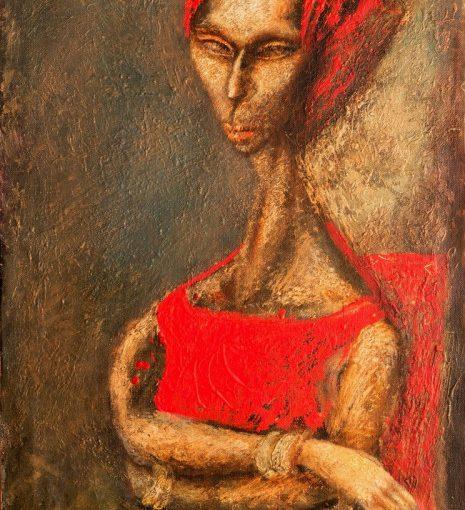 «Женщина в красном» — новая выставка в Кировоградском художественном музее